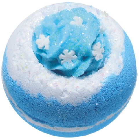 Let It Snow Christmas Bath Bomb
